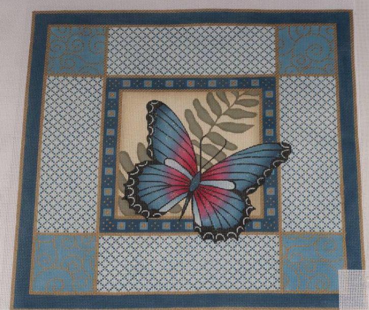 Blue Butterfly & Boarders