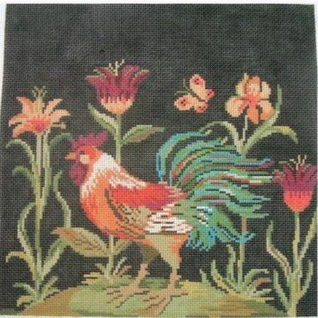 Rooster Black Background 13M