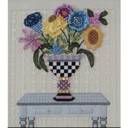 Classy Vase  w/stitch guide (Pic is Stitched)