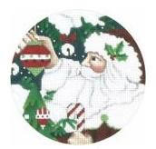 Classic Santa Ornament 18 ct.