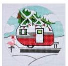 Christmas Campervan Ornament