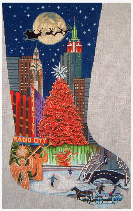 New York Christmas Stocking