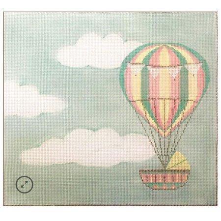 Hot Air Balloon Baby Announcement