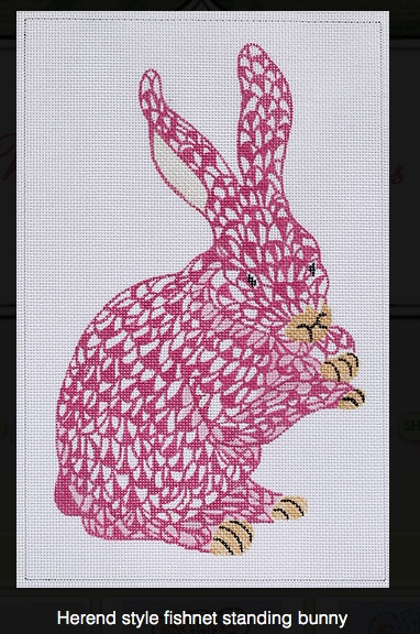 Herend Insp. Fishnet Bunny