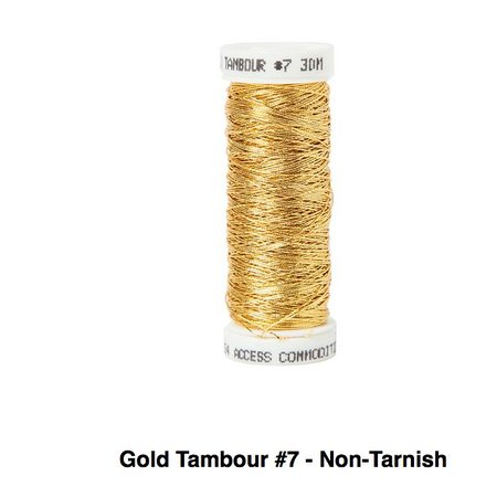 Gold Tambour No.7