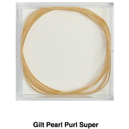 Gilt Pearl Purl Size Super