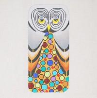 Mill Fleur Owl Eye Glass / Cell Phone Case