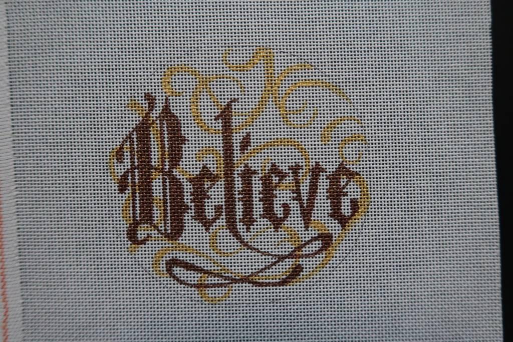 """4.5"""" Round Believe"""