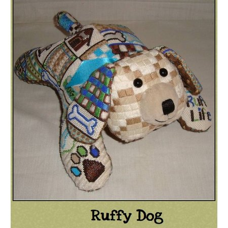 3-D Ruffy Puppy