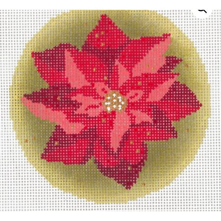 Christmas Ornament Poinsettias