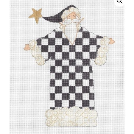 The Checkered Santa