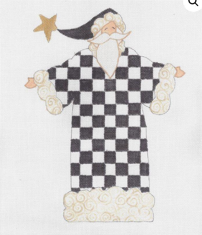 The Checkered Santa