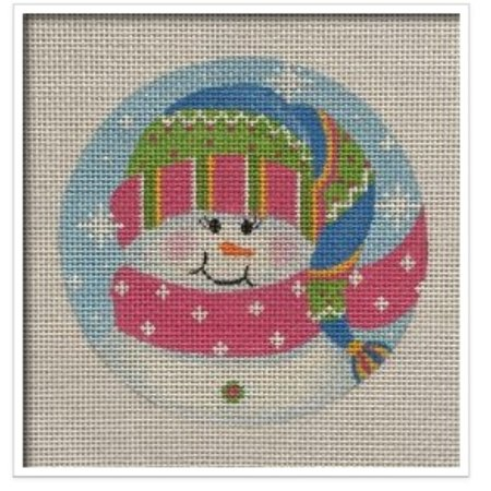 Sparkle Snowgirl Ornament