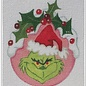 Grinch Holly Ornament
