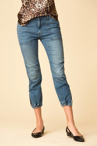 Nili Lotan Nili Lotan Cropped French Military Jean