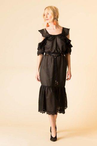 Marissa Webb Marissa Webb Kendra Check Dress
