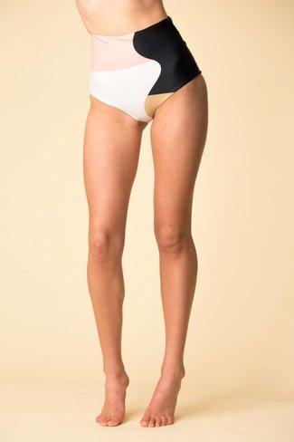 Mara Hoffman Mara Hoffman Lydia Bikini Bottom - Peach Multi