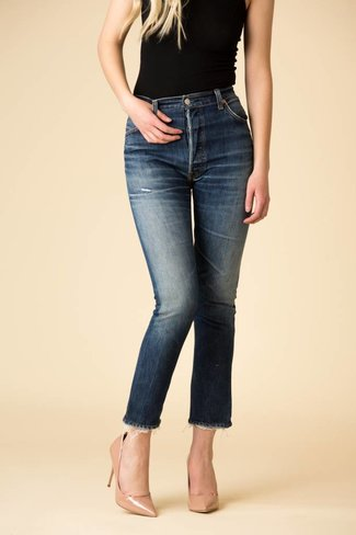 Re/DONE Re/DONE Levis High Rise Ankle Crop