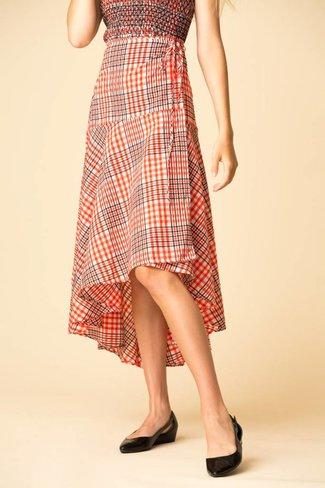 Ganni Ganni Charron Wrap Skirt