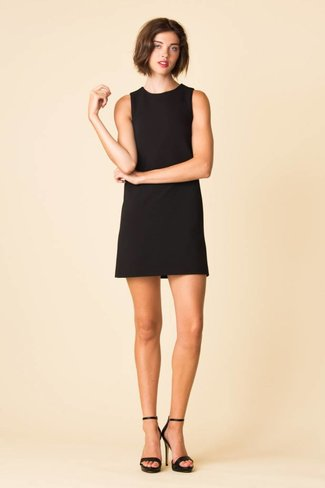 Tibi Tibi Structured Crepe Sleeveless Dress
