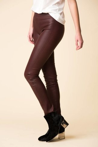 SPRWMN SPRWMN Leather Leggings - Plum