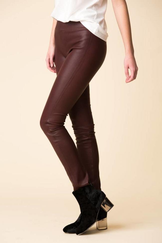 SPRWMN SPRWMN Leather Leggings - Plum