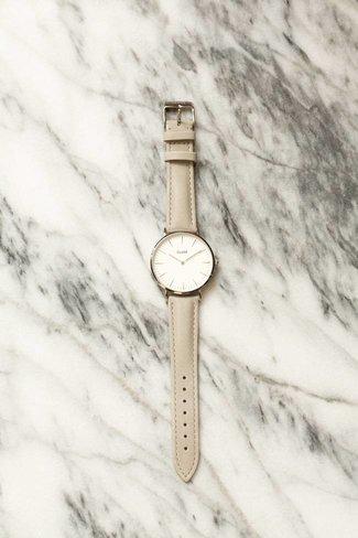 CLUSE CLUSE La Boheme Watch - Silver White / Grey