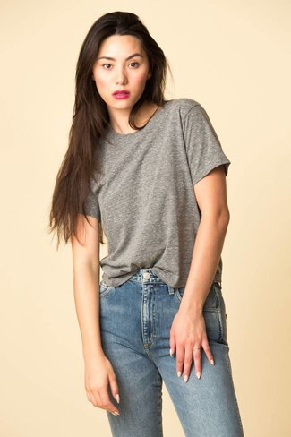 AMO AMO Classic Tee - Heather Grey