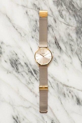 CLUSE CLUSE La Boheme Mesh Watch - Gold / Silver