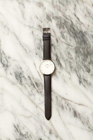 CLUSE CLUSE La Boheme Watch - Silver White / Midnight
