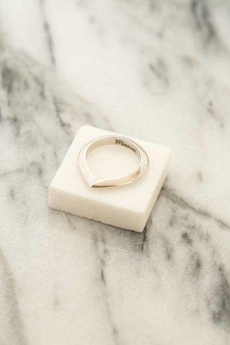 Miansai Miansai Angular Ring - Sterling Silver