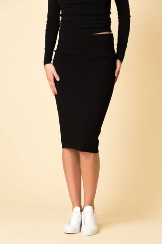 Vince Vince Ribbed Skirt