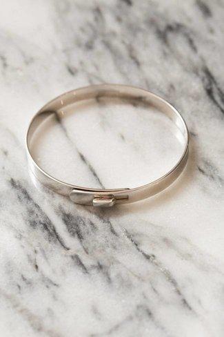 Miansai Miansai Standard Cuff - Polished Silver
