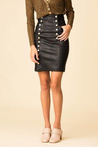 Marissa Webb Marissa Webb Nell Stretch Leather Skirt