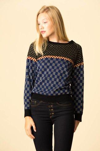 Replica Los Angeles Replica Los Angeles Checkerboard Jacquard Sweatshirt