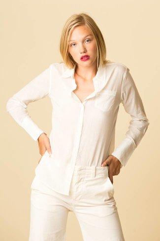 Nili Lotan Nili Lotan Cotton Voile NL Shirt