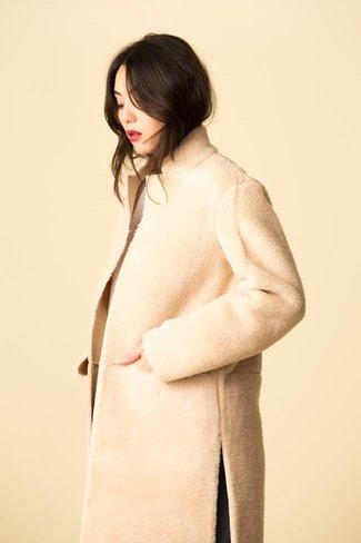 Mijeong Park Mijeong Park Faux Shearing Coat
