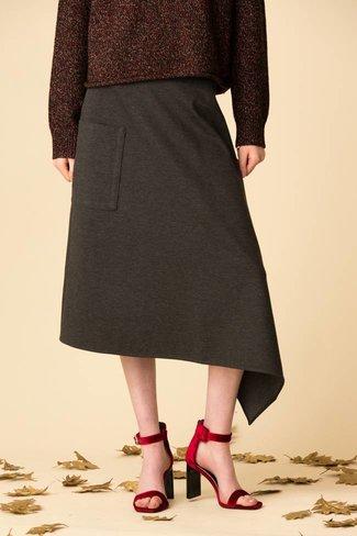 Tibi Tibi Bond Stretch Knit Oragami Skirt