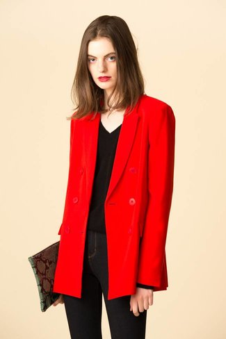 Tibi Tibi Triacetate Steward Blazer