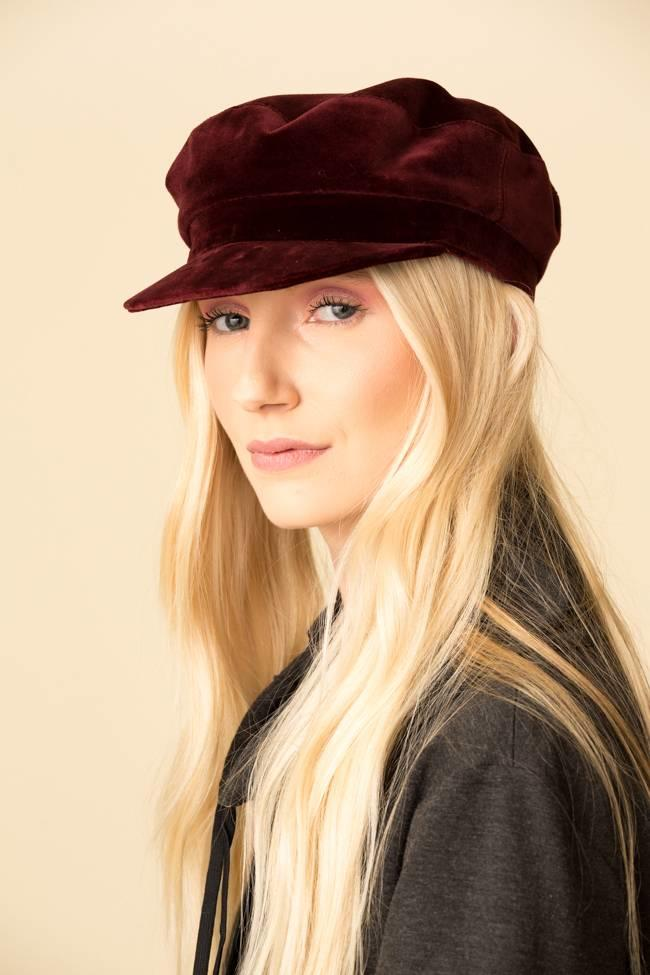 Janessa Leone Janessa Leone Velvet Mattie Hat