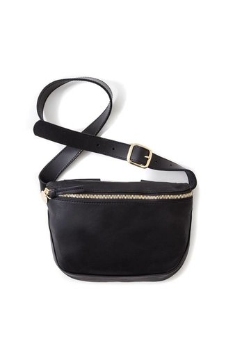 Clare V. Clare V. Velvet Leather Fanny Pack