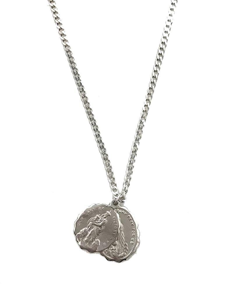 MIANSAI MIANSAI / Saints Necklace (Polished Silver)