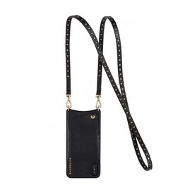 BANDOLIER BANDOLIER / Natalie (Black/Gold, iPhone X)