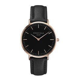 ROSEFIELD The Bowery (Black/Black/Rose Gold, o/s)