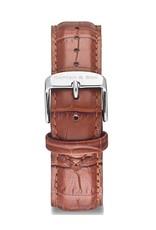 KAPTEN & SON KAPTEN & SON / Campina Leather Strap (Brown CrocoxSilver)