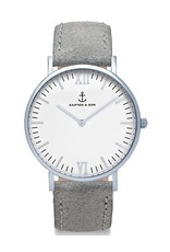 KAPTEN & SON KAPTEN & SON / Campina New Vintage Grey White (Silver, o/s)