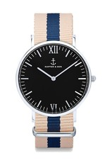 KAPTEN & SON KAPTEN & SON / Campus Nylon Roadtrip Black Dial
