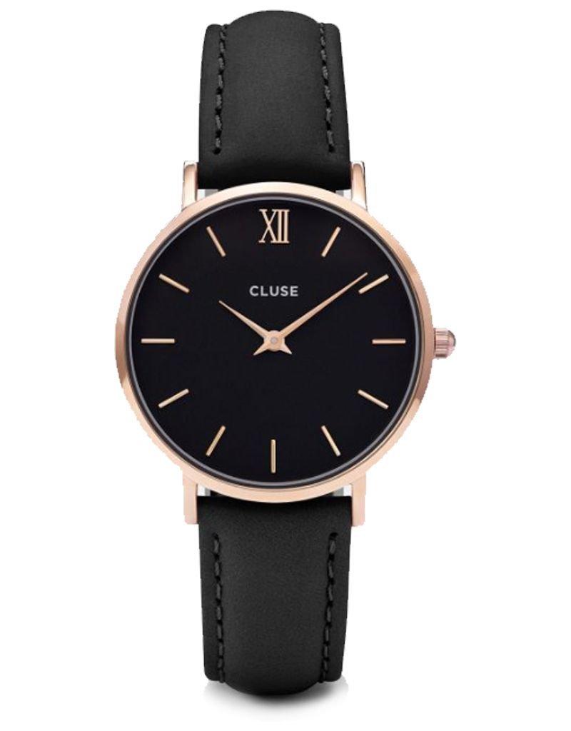 CLUSE CLUSE / Minuit Rose Gold Black/Black