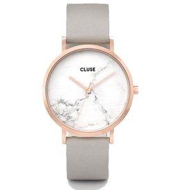 CLUSE CLUSE / La Roche Rose Gold White Marble/Grey