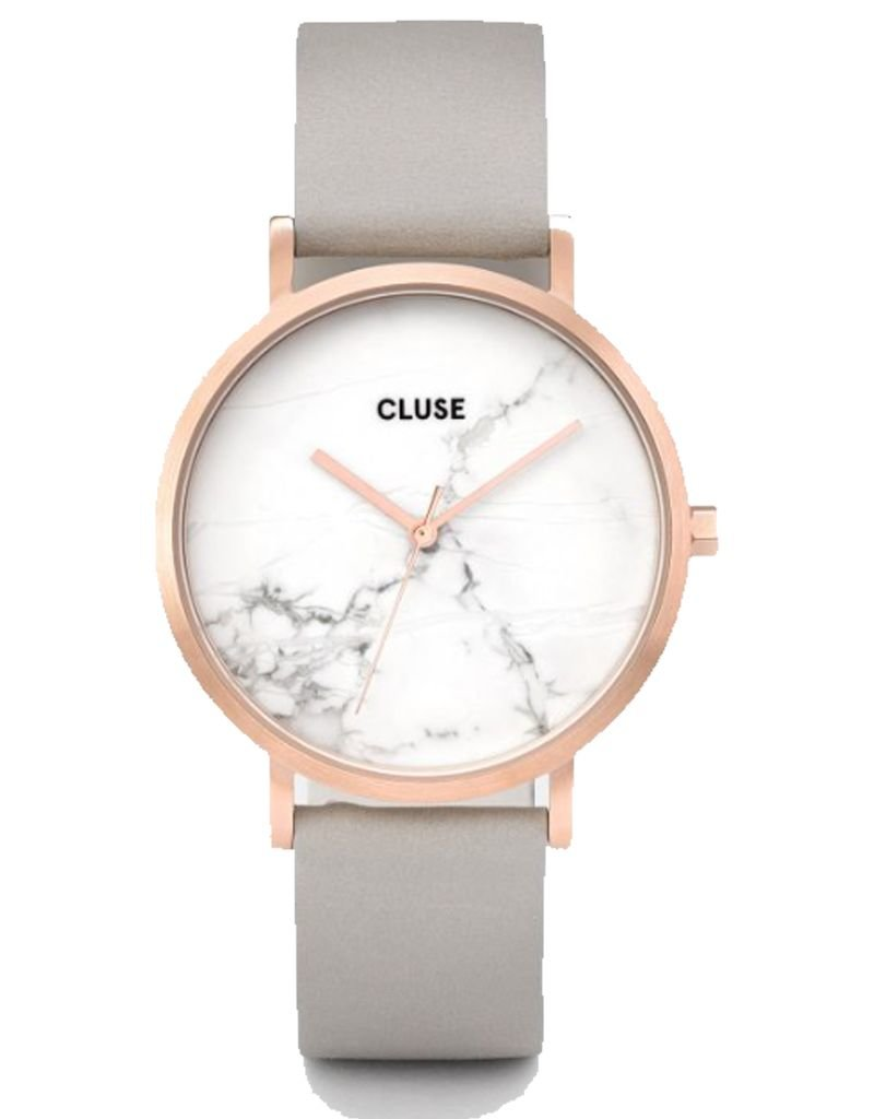 CLUSE CLUSE / La Roche Rose Gold White Marble/Grey